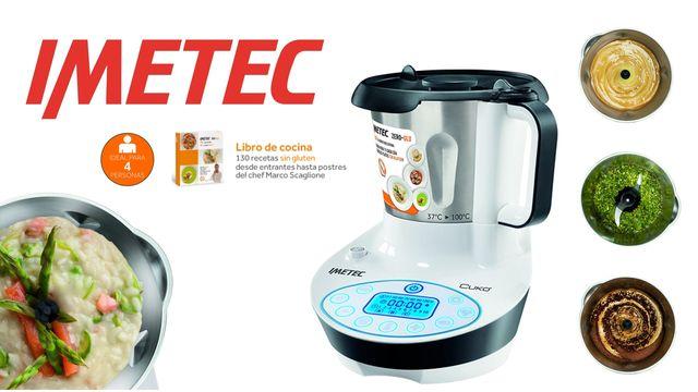 Robot cocina Imetec 7636 Zero Glu Cuko