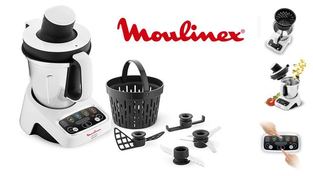 Mejor robot de cocina barato Moulinex Volupta