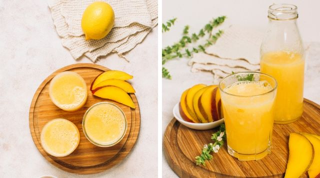 Jugo de Mango y Naranja